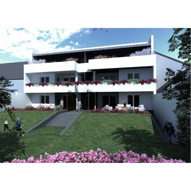 Belváros - Óváros városrészben, újépítésű ,6 lakásos társasház épül! 61.5 m. Ft-tól